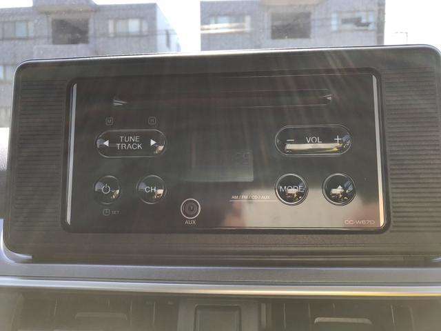 オーディオは2DINワイドサイズのCDデッキが装備!こちらのスペースに7インチワイドナビを取付可能となっております。スタッフへご相談ください!アップグレードパック車にはバックカメラ対応となります。