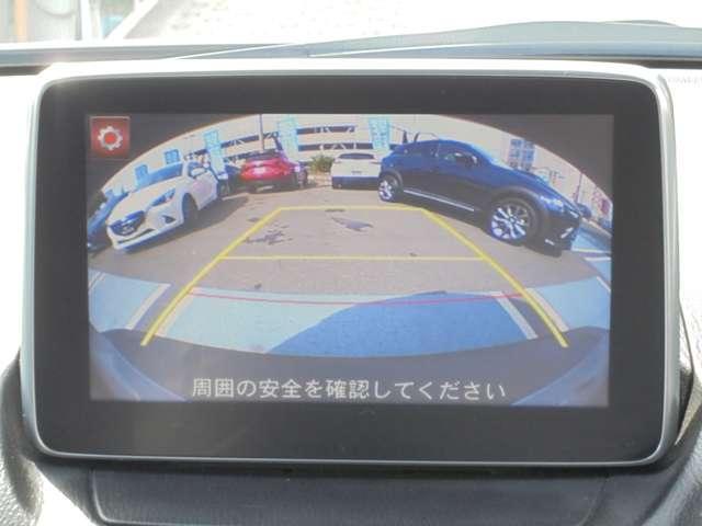 駐車も安心!バックカメラも標準装備です