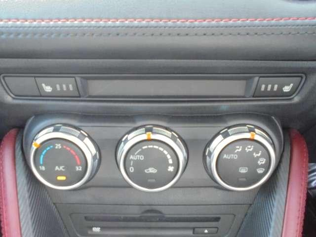 快適なシートヒーター・オートエアコンです