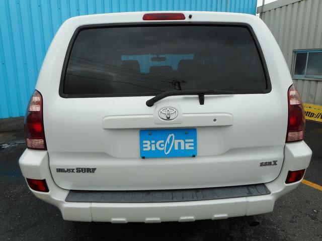 トヨタ ハイラックスサーフ SSR-X タイミングベルト交換済み ナビ ETC