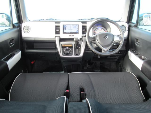 Jスタイル 後期型 ストラーダナビ Bluetooth ワンセグTV レーダーブレーキサポート Sエネチャージ 前席シートヒーター スマートキー ディスチャージヘッドライト LEDフォグ(3枚目)