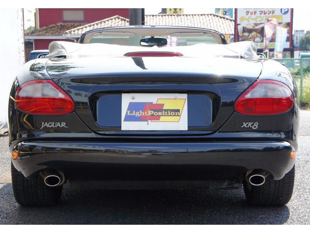 ジャガー ジャガー XK8コンバーチブル 本革シートヒーター 純正アルミ