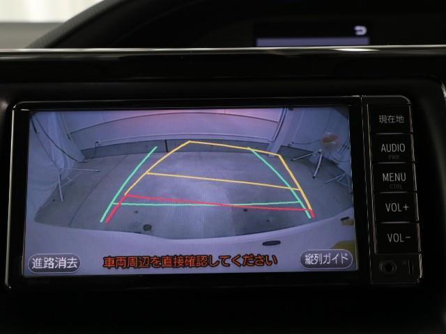 ハイブリッドX LEDヘッド メモリ-ナビ ETC 3列シート Wエアコン ナビTV ワンセグ イモビライザー クルコン キーレス 衝突回避支援 Bモニ CD再生 Pスライド Sキー アルミ 横滑り防止装置 AAC(6枚目)