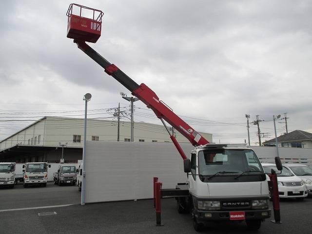 三菱ふそう キャンター 高所作業車 SK12A 作業床12.5m