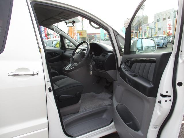 トヨタ アルファードV AS 後期型 HDDナビ 両側電動ドア コーナーセンサー