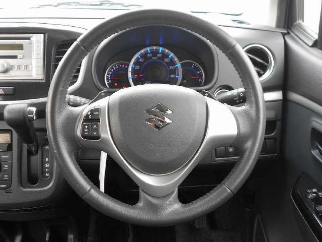 スズキ ワゴンRスティングレー T ターボ付き衝突軽減装置アイドリングストップCD純正アルミ