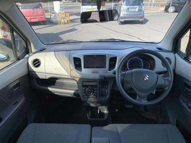 FX ナビ ワンセグ アイドリングストップ 社外14インチアルミ CD シートヒーター 禁煙車 レベライザー オートエアコン キーレス ABS ベンチシート スペアキー 保証書(3枚目)