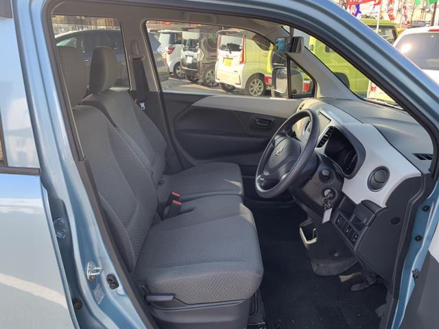 FX ナビ ワンセグ アイドリングストップ 社外14インチアルミ CD シートヒーター 禁煙車 レベライザー オートエアコン キーレス ABS ベンチシート スペアキー 保証書(11枚目)
