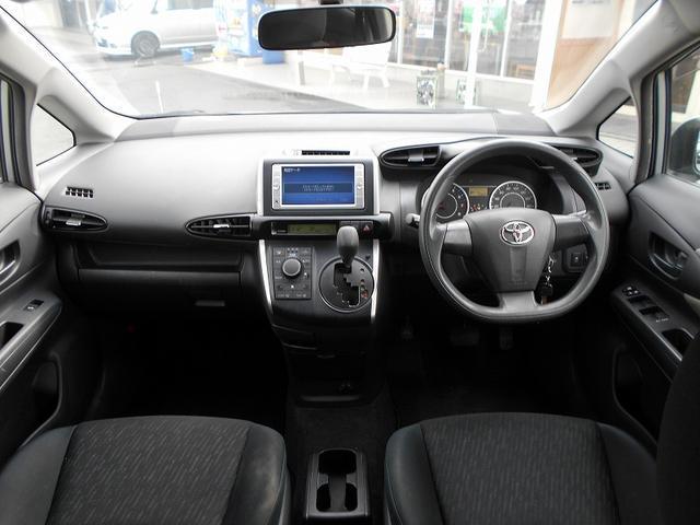 トヨタ ウィッシュ 1.8X ディーラーOPSDナビ 1セグ レベライザ