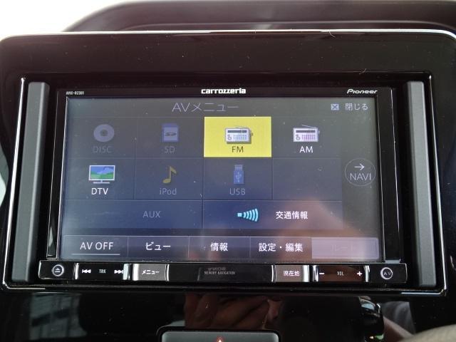 スティングレー HYBRID X 1オーナー車 メモリーナビ ワンセグTV DVD再生 オートエアコン LEDヘッドライト シートヒーター 純正14インチAW(8枚目)
