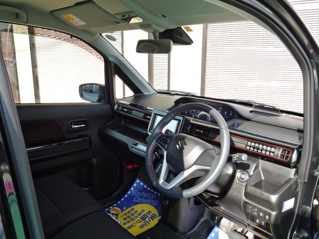 スティングレー HYBRID X 1オーナー車 メモリーナビ ワンセグTV DVD再生 オートエアコン LEDヘッドライト シートヒーター 純正14インチAW(13枚目)