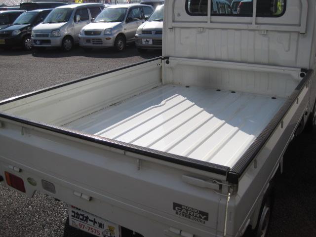 スズキ キャリイトラック KCエアコン・パワステ F5 4WD AC PS