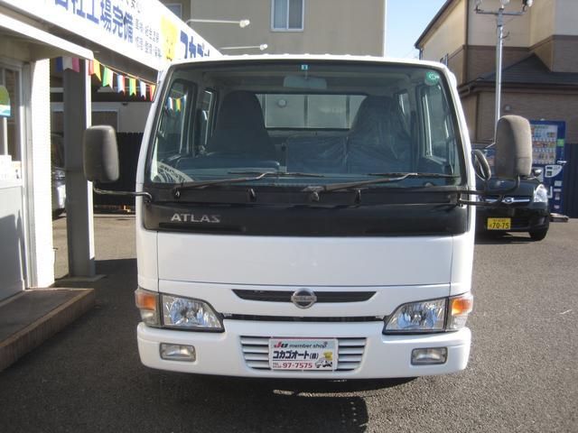 日産 アトラストラック Wキャブ F5 AC PS フロントPW 最積1250kg