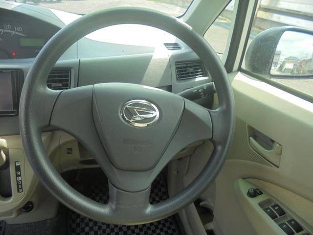 運転席、助手席エアーバック付きです。ABSもついています。