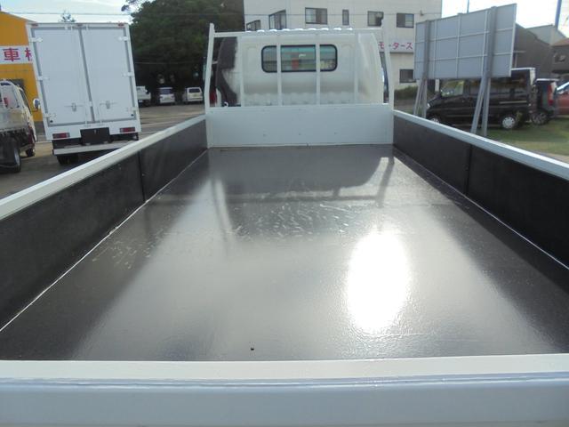 ロング 超ワイド 全低床 2トン 全塗装済 盗難防止装置付(6枚目)