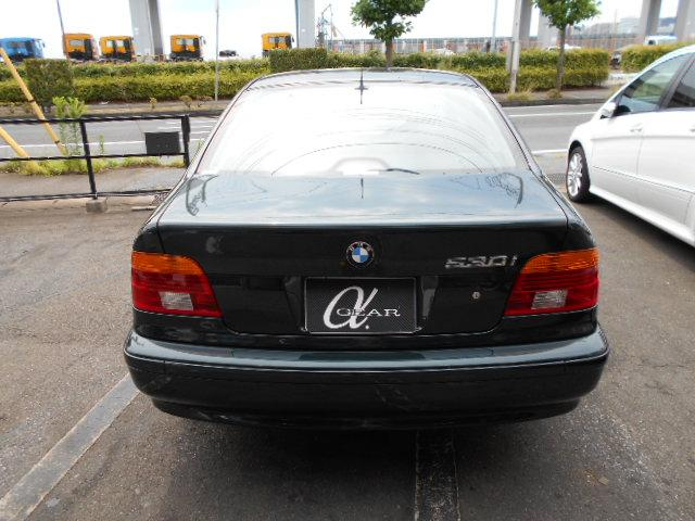 BMW BMW 530iハイライン 黒革シート 純正DVDナビ