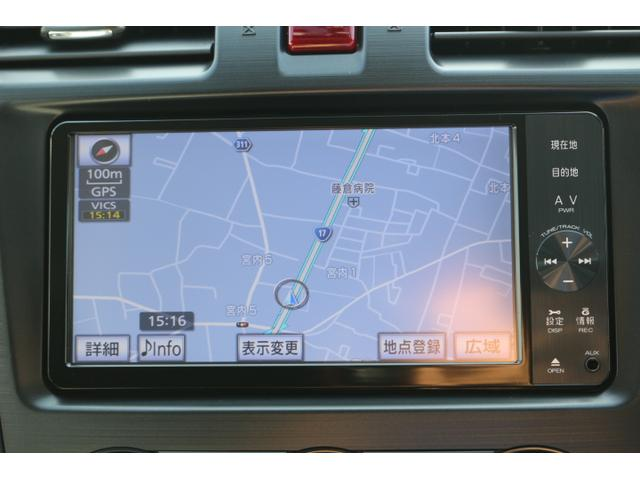 スバル インプレッサXVハイブリッド 2.0i-L アイサイト2 SDナビTV バックカメラ