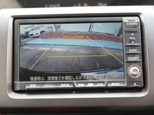 ホンダ ステップワゴンスパーダ Z 地デジ純正HDDナビTV Bカメラ 後席モニター