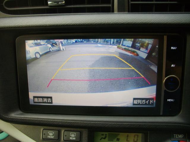 トヨタ アクア S 純正HDDナビ 地デジTV バックカメラ BTオーディオ
