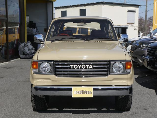 トヨタ ランドクルーザー80 VX-LTD 丸目フェイス換装 ナローボディー タイヤBFG