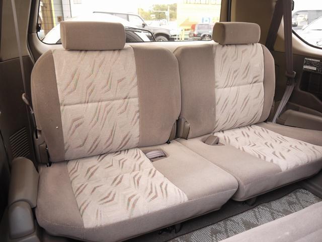 トヨタ ランドクルーザープラド TX ブラウン内装 ルーフレール
