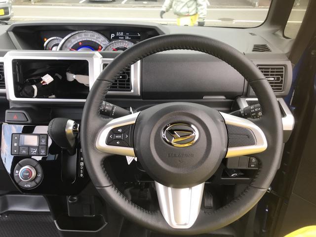 アップグレードパック車には、純正ナビ(ディーラーオプション)に対応のアイテムを設定。ステアリングスイッチ、6スピーカー、バック時の運転をサポートするバックカメラがセット装備になっております。