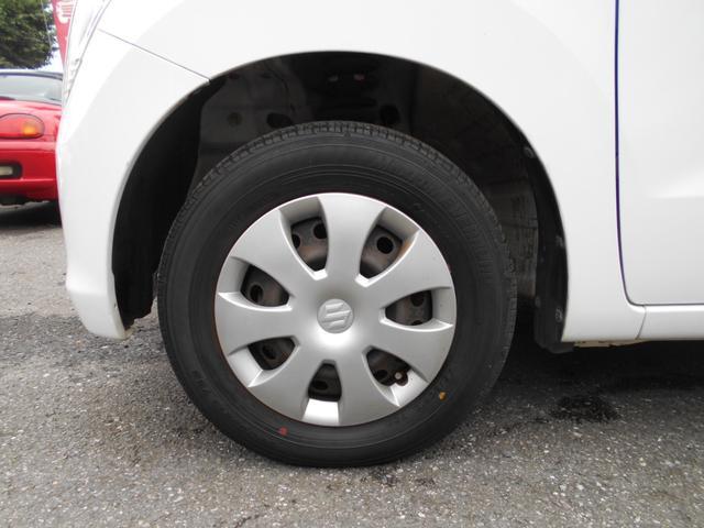 タイヤの山あります。