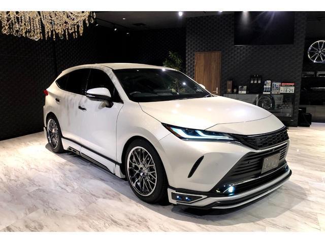 G Mzコンプリート 20インチAW フロントサイドリア フルエアロ装備 4本だしマフラー 車高調 デジタルインナーミラー プロジェクター式LEDヘッドライト パワーバックドア 電動パーキングブレーキ(12枚目)