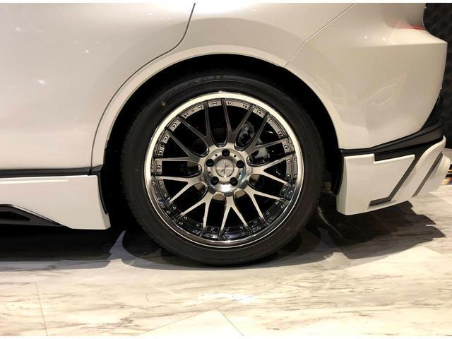 G Mzコンプリート 20インチAW フロントサイドリア フルエアロ装備 4本だしマフラー 車高調 デジタルインナーミラー プロジェクター式LEDヘッドライト パワーバックドア 電動パーキングブレーキ(17枚目)