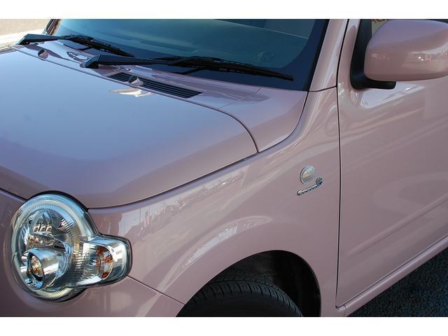ダイハツ ミラココア ココアプラスX ピンク内装 ナビ 車検整備付き