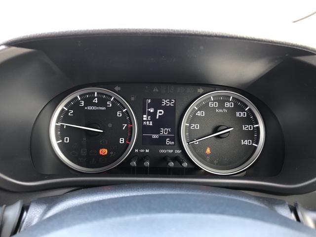 走行距離たったの6キロになります。まだまだこれからのキョリですね!見やすいスピードメーターですね。