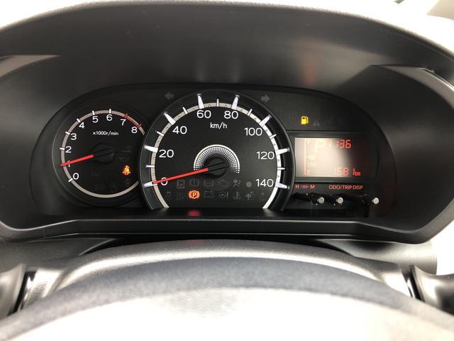 走行距離1681キロになります。まだまだこれからのキョリですね!見やすいスピードメーターですね。