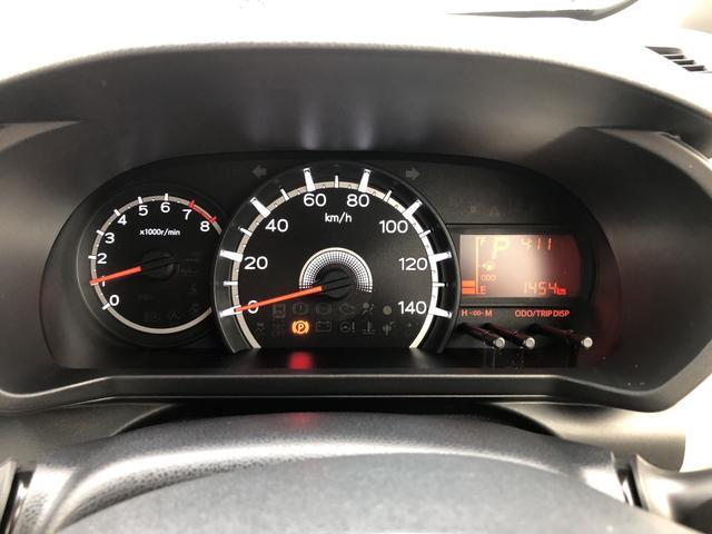 走行距離1454キロになります。まだまだこれからのキョリですね!見やすいスピードメーターですね。