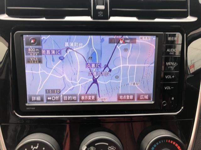 X 4WD寒冷地仕様 トヨタ純正ナビ バックカメラ ETC(11枚目)