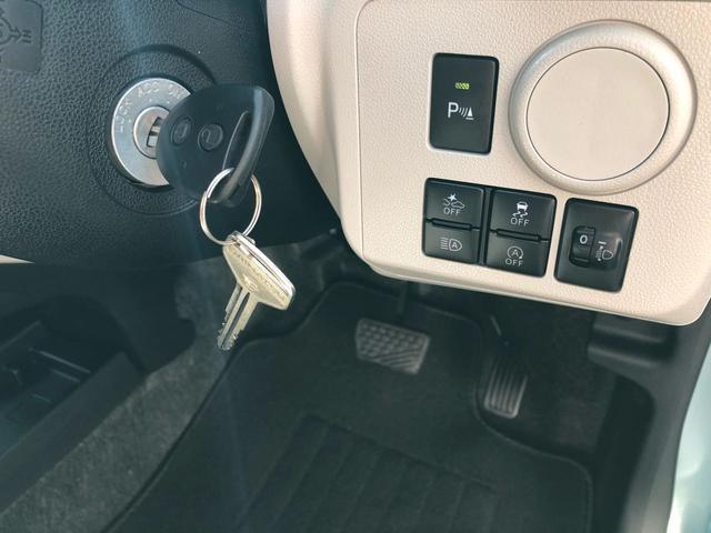 シンプルで使いやすいキーレスエントリー☆鍵のボタンでドアの開け閉めが出来ます♪