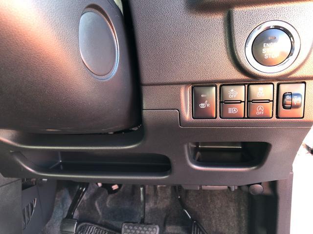 プッシュボタンでエンジン楽々エンジンスタート☆バックやポケットに鍵が入ったままでも、車の中に鍵があればエンジンがかけられるので便利です!