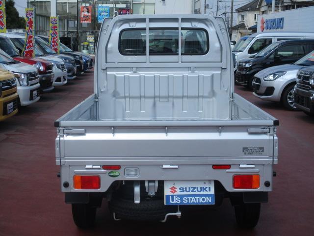 KCエアコンパワステ 4型 パートタイム4WD フロア5MT(5枚目)