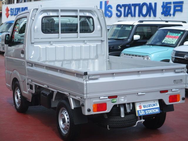 KCエアコンパワステ 4型 パートタイム4WD フロア5MT(6枚目)