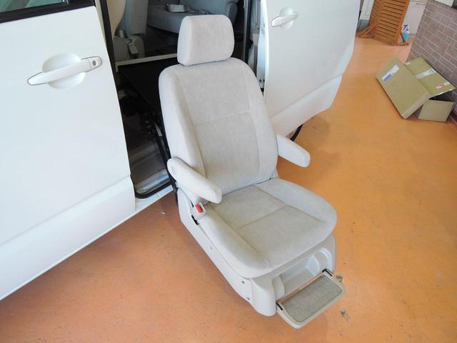 ウェルキャブ 全自動サイドリフトアップシート 車いす固定装置(6枚目)