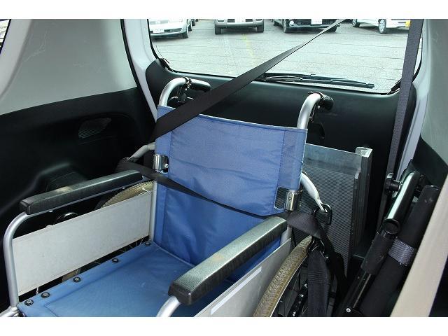トヨタ ラクティス ウェルキャブ 福祉車輌 スローパー 電動固定 二ールダウン