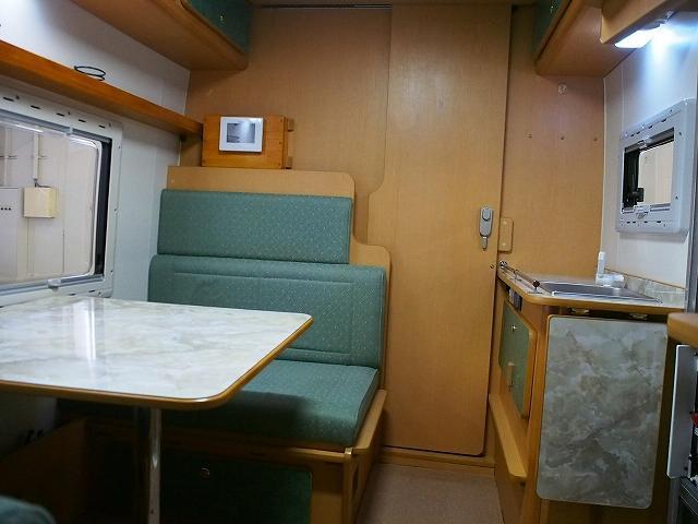 マツダ ボンゴトラック キャンピング ロータスRV マンボウクラシック FFヒーター