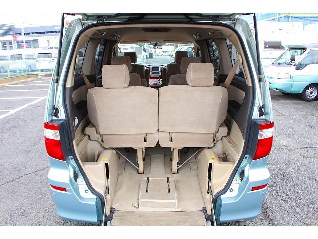 トヨタ アルファードV V2.4 福祉車 スロープ セカンドリフトアップシート ナビ
