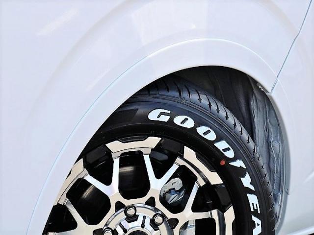 GL ロング PVM付 フレックスオリジナルシートアレンジVer1 ベットキット搭載 ローダウン アルミ フロントスポイラー ナビ ETC2.0 パノラマ連動 フリップダウン ローダウン LEDテール カスタム済(7枚目)