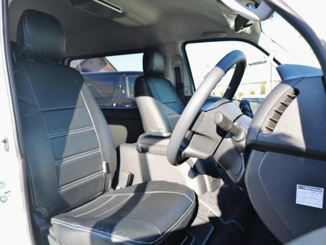 GL ロング PVM付 フレックスオリジナルシートアレンジVer1 ベットキット搭載 ローダウン アルミ フロントスポイラー ナビ ETC2.0 パノラマ連動 フリップダウン ローダウン LEDテール カスタム済(18枚目)