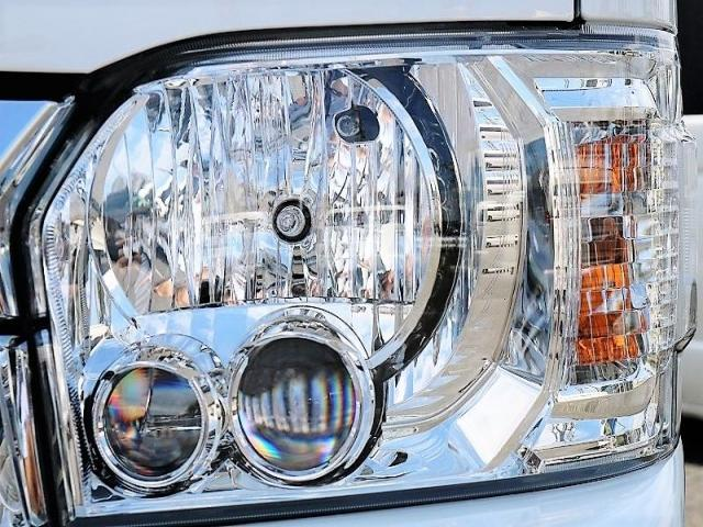 GL ロング PVM付 フレックスオリジナルシートアレンジVer1 ベットキット搭載 ローダウン アルミ フロントスポイラー ナビ ETC2.0 パノラマ連動 フリップダウン ローダウン LEDテール カスタム済(19枚目)
