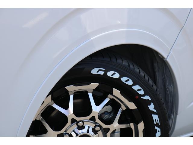GL ロング PVM付 フレックスオリジナルシートアレンジVer1 ベットキット搭載 ローダウン アルミ フロントスポイラー ナビ ETC2.0 パノラマ連動 フリップダウン ローダウン LEDテール カスタム済(28枚目)