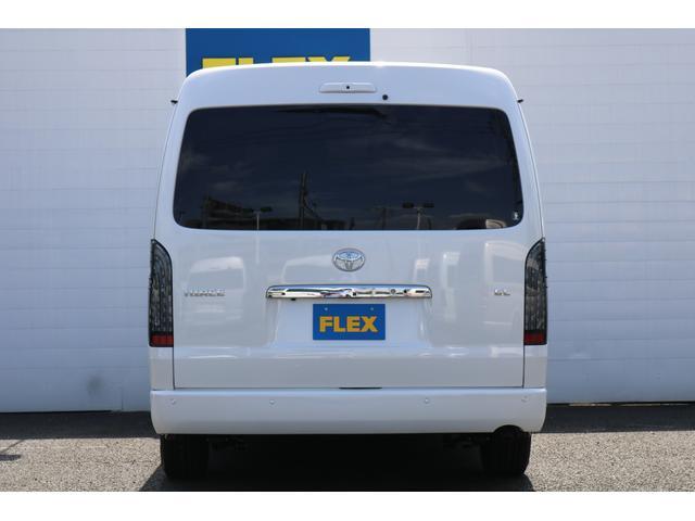 GL ロング PVM付 フレックスオリジナルシートアレンジVer1 ベットキット搭載 ローダウン アルミ フロントスポイラー ナビ ETC2.0 パノラマ連動 フリップダウン ローダウン LEDテール カスタム済(32枚目)