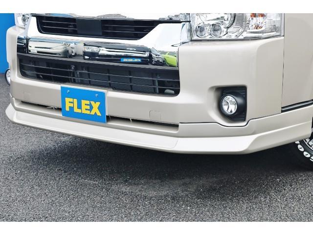 SロングワイドDX オリジナルキャンピングカーSH-TYPE1 スーパーロング FFヒーター サブバッテリー 冷蔵庫 2段ベット フロントスポイラー ガッツミラー同色塗装 デジタルインナー クリアランスソナー 寒冷地仕様(22枚目)