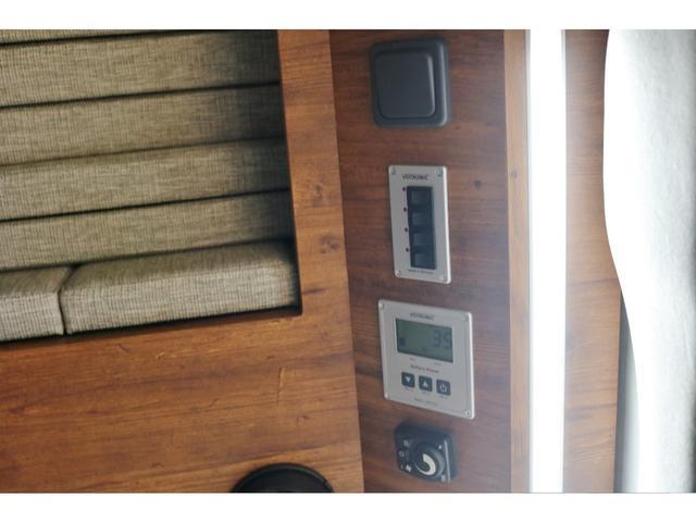 SロングワイドDX オリジナルキャンピングカーSH-TYPE1 スーパーロング FFヒーター サブバッテリー 冷蔵庫 2段ベット フロントスポイラー ガッツミラー同色塗装 デジタルインナー クリアランスソナー 寒冷地仕様(43枚目)