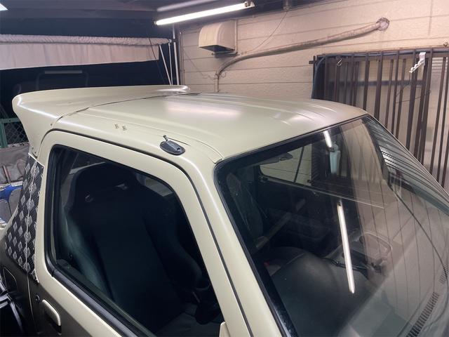 XC 4WD インタークーラーターボ リフトアップ 社外マフラー 社外シート ロールバー オーバーフェンダー 社外アルミ 社外ハンドル ETC 構造変更届出 普通車登録 追加メーター(24枚目)